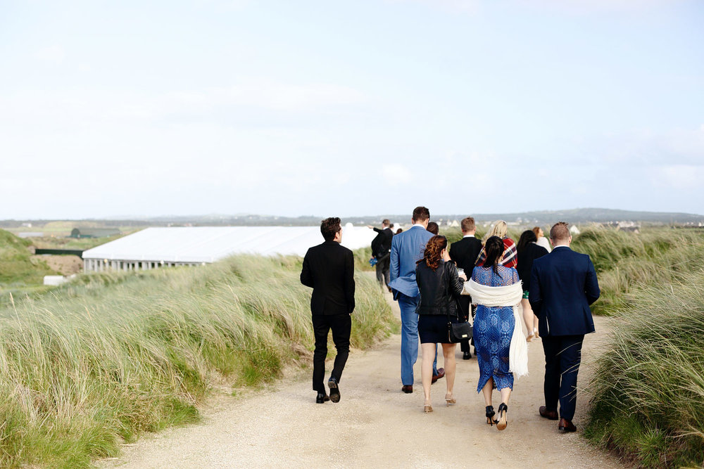 marquee wedding venues in county clare ireland