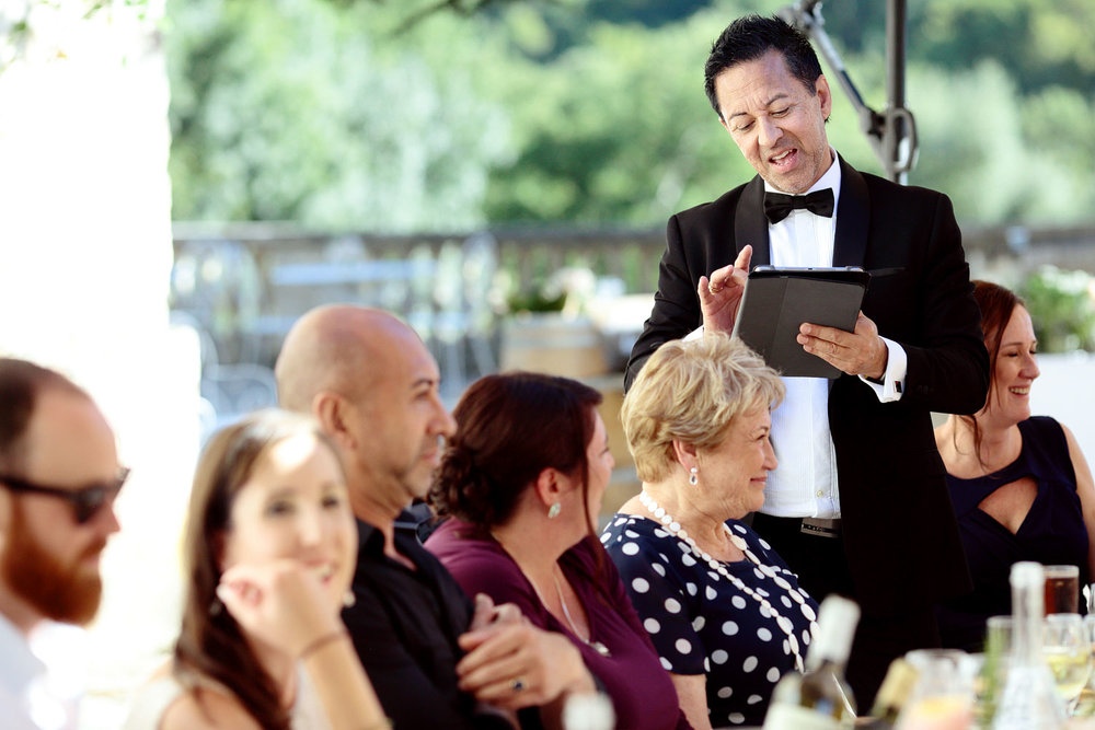 wedding speeches chateau lagorce