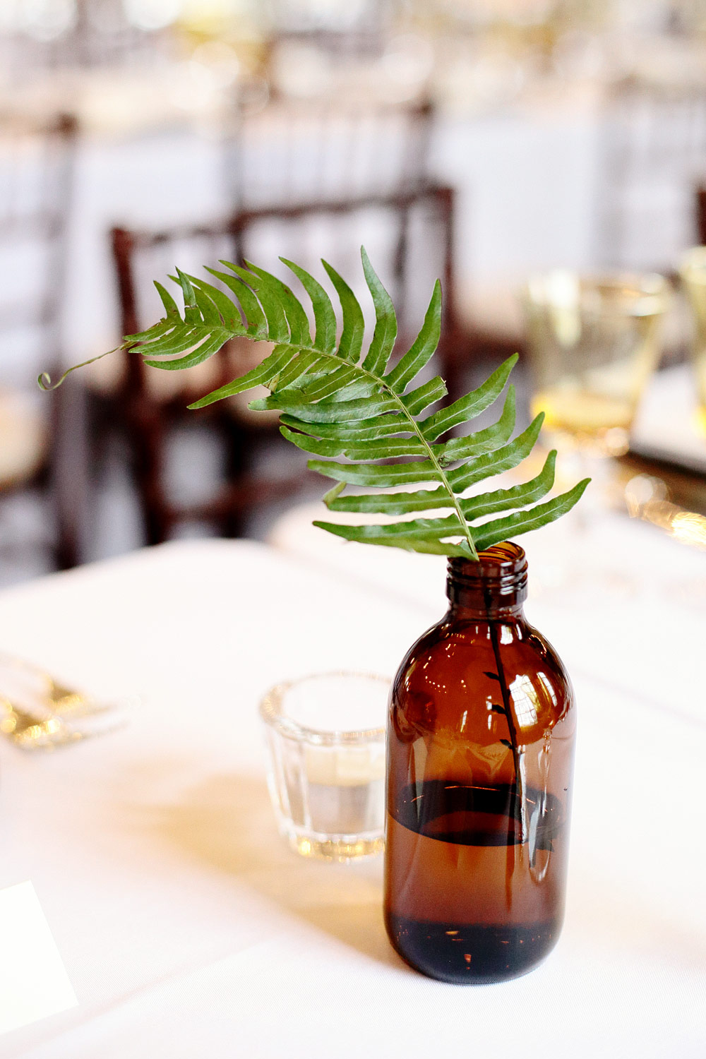 fern wedding decor ideas