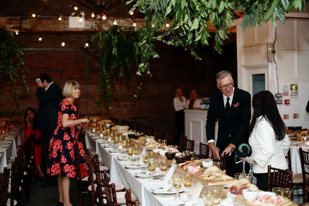 loft studios wedding food catering photo