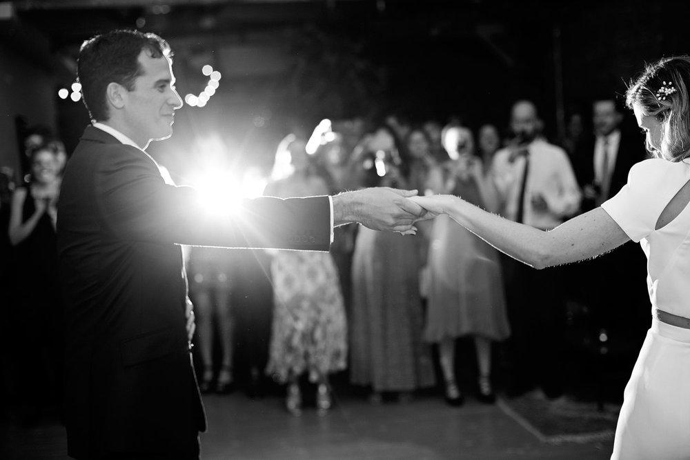 loft studios wedding dancefloor photo
