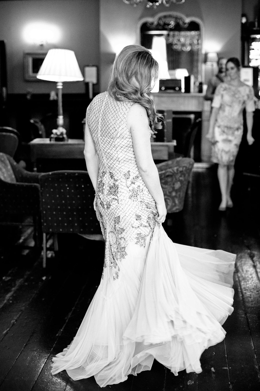 bride portrait at Fallon and Byrne wedding venue Dublin