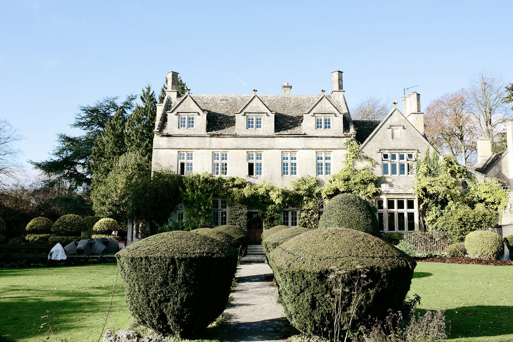 Barnsley House wedding venue Cotswolds