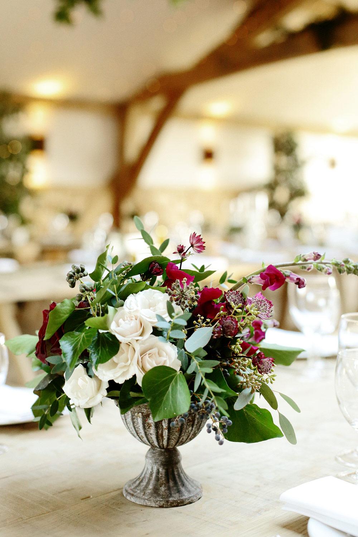 wedding florist Cripps barn Cotswolds