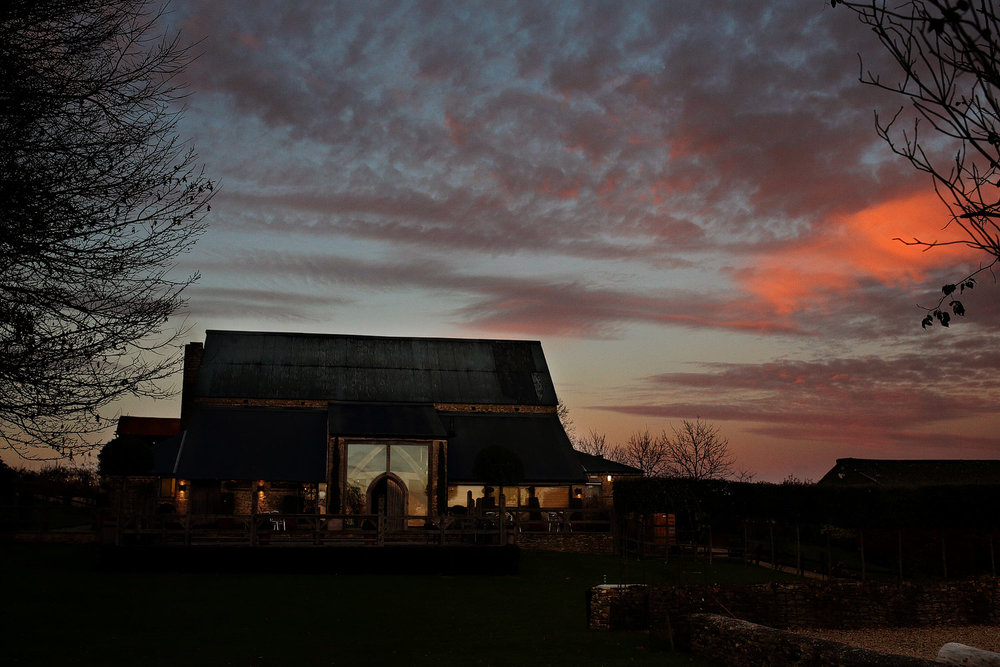 Cripps Barn wedding venue photos in Gloucestershire