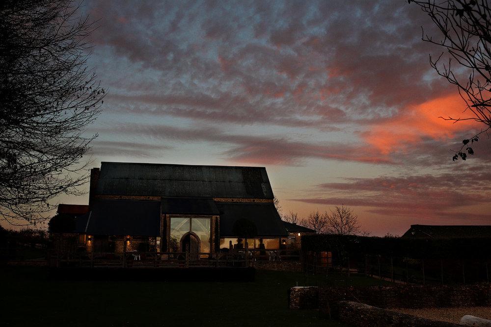 Cripps Barn wedding venue photos in Gloucestershire
