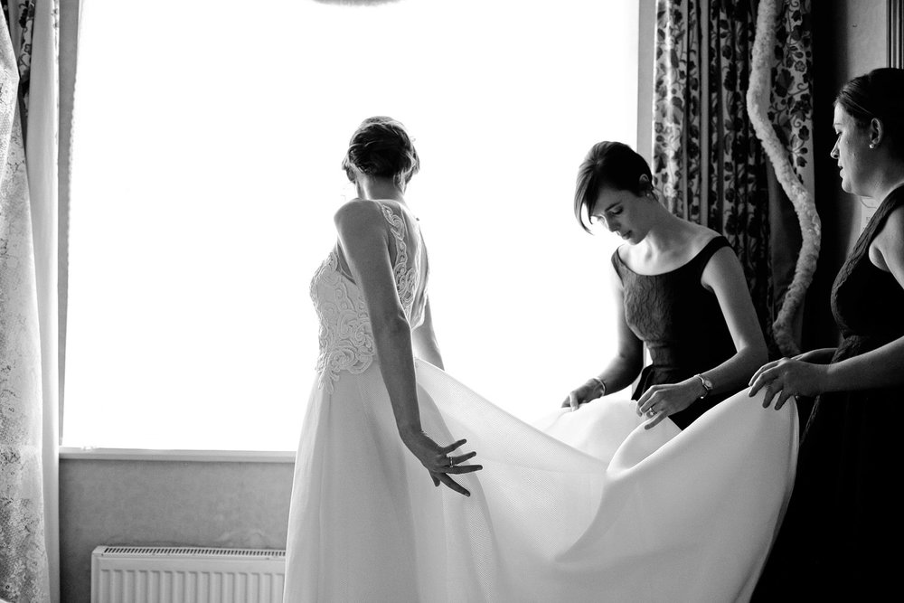dromquinna manor wedding bride photo
