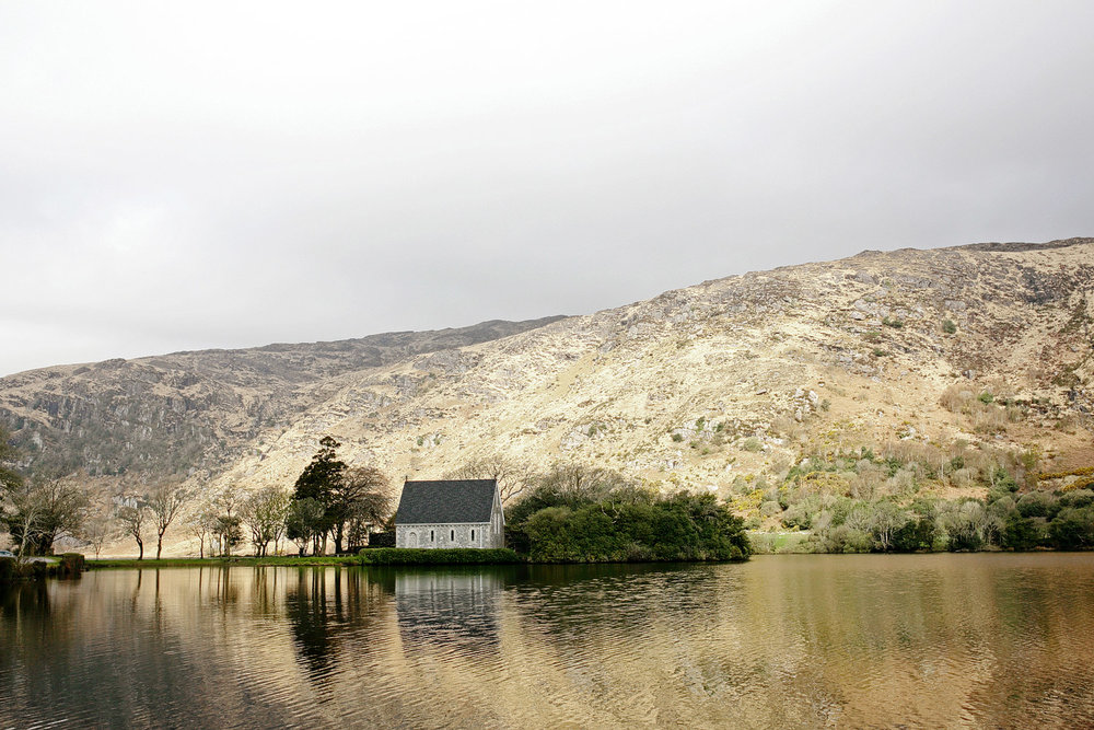 gougane barra church in west cork