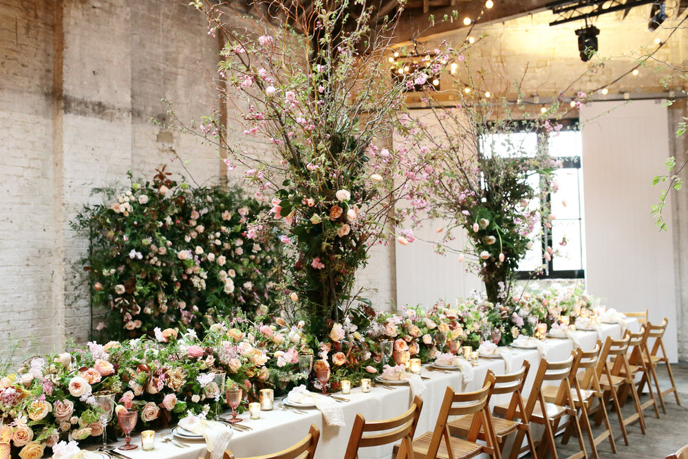 wedding flowers and decor in london