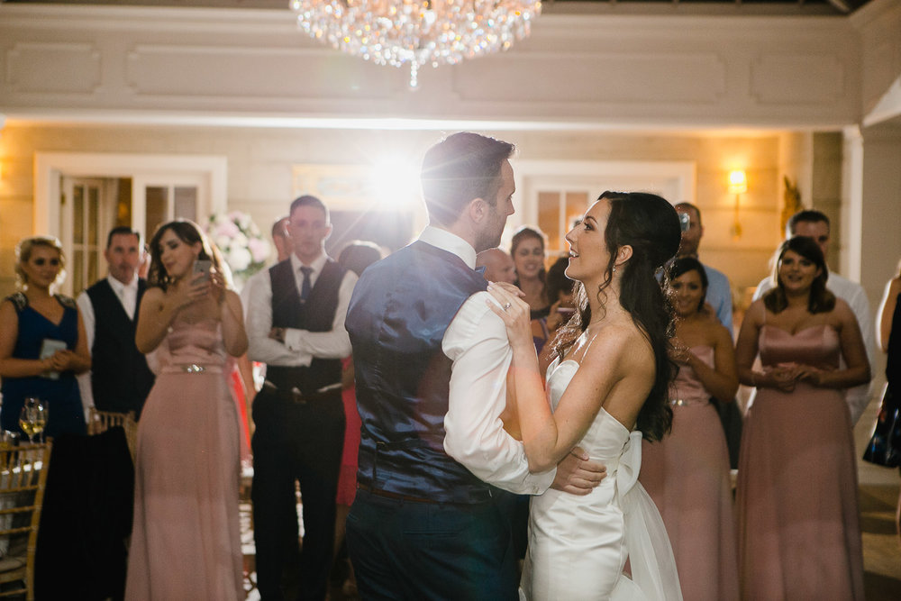 first dance photo tankardstown house wedding