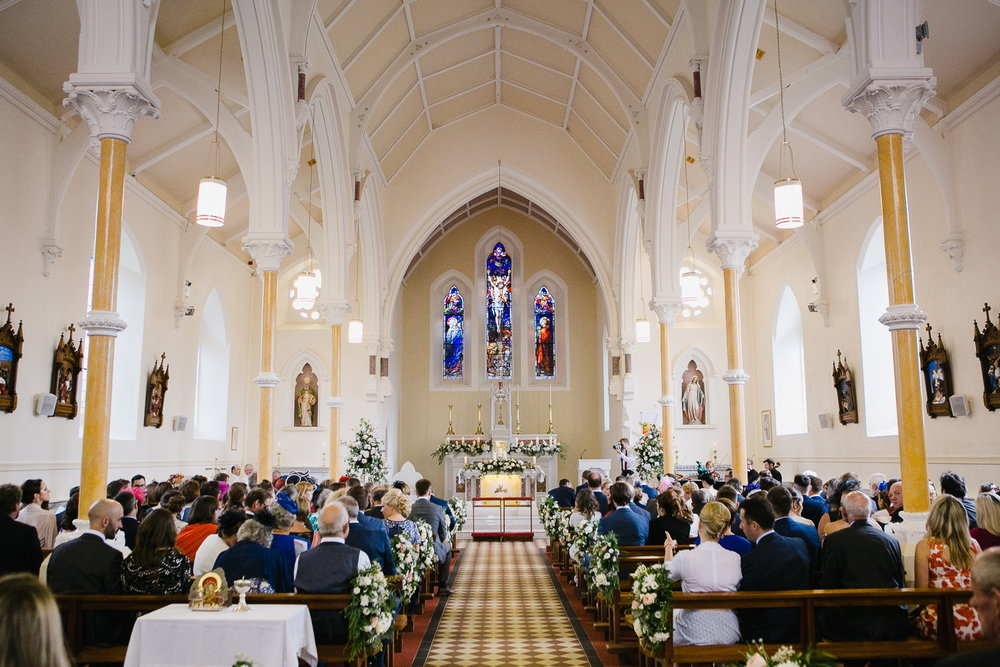 beltubert church wedding ceremony photo cavan