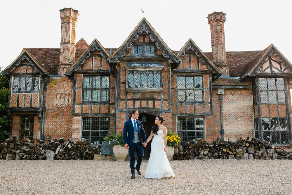 summer wedding at Dorney Court in Berkshire