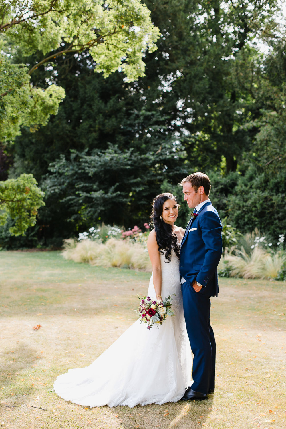 classic wedding photography at dorney court