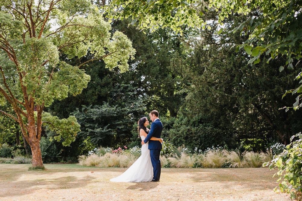 couple wedding photos at dorney court