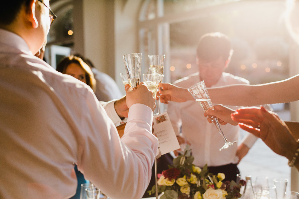 wedding toasts at dorney court berkshire