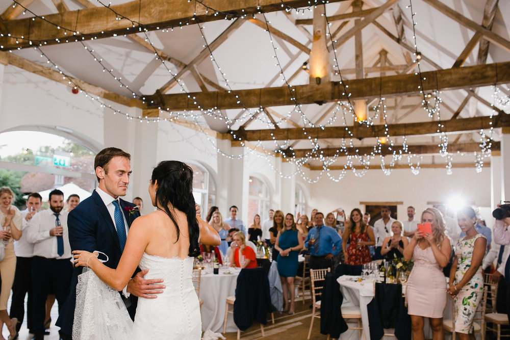 first dance in dorney court wedding venue