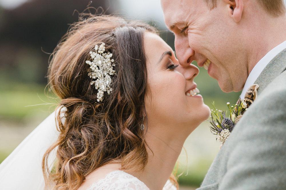 Happy bride and groom at Dumfries house wedding.jpg