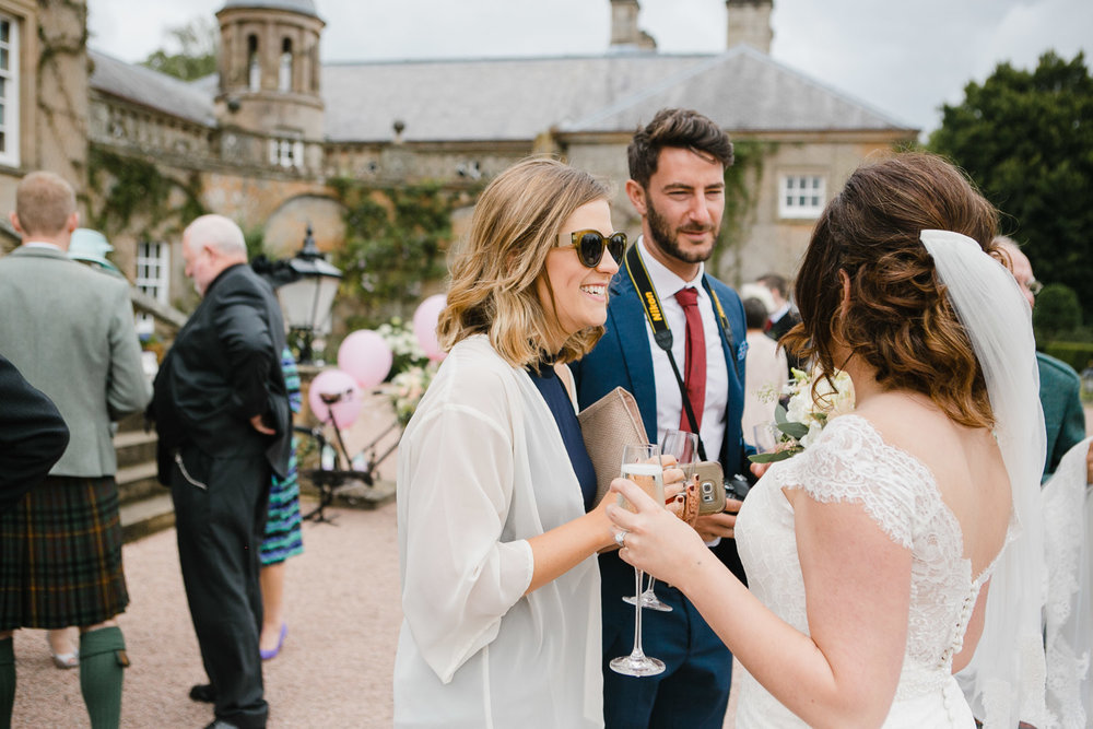natural photography for dumfries house wedding