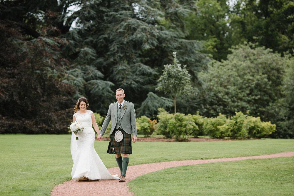 classic Scottish wedding photos