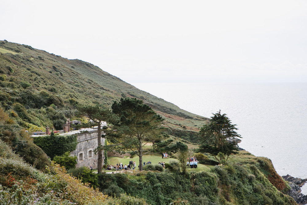 Seaside wedding venue in Cornwall