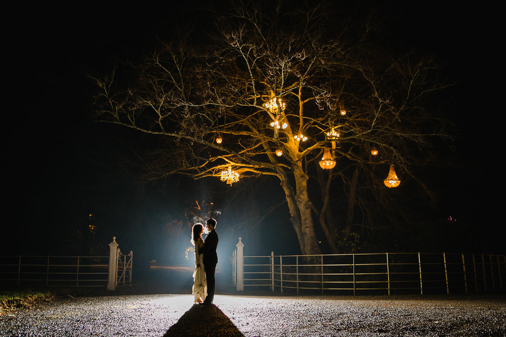 winter wedding at Ballymagarvey Village