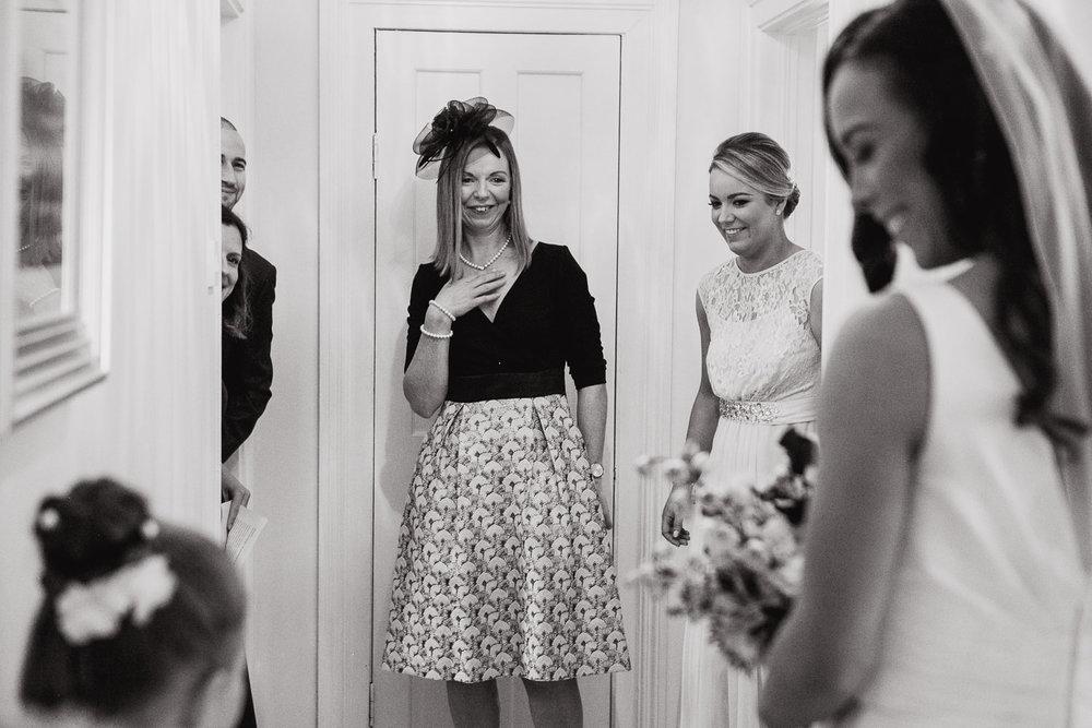 Bride Wedding Dress Reveal Photo