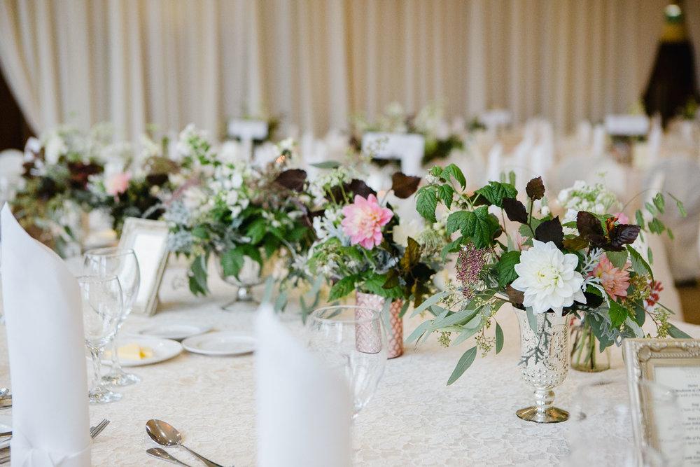 Top Table Wedding Flower Ideas