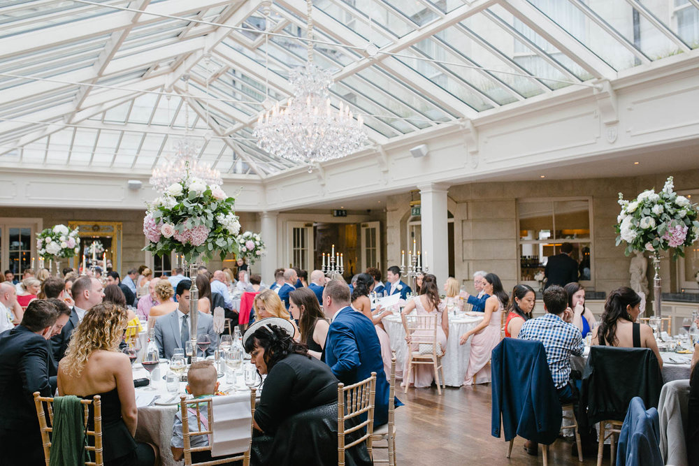 Wedding Reception Room In Tankardstown House