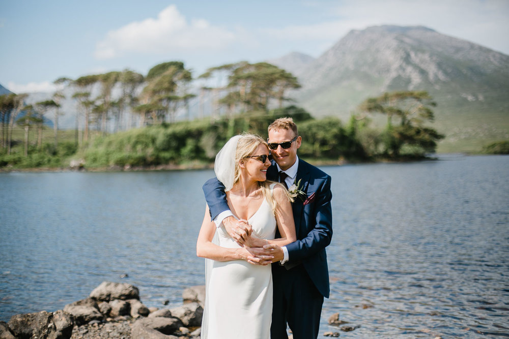 Bride And Groom Photo In Connemara National Park