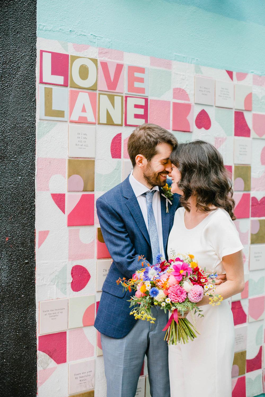 Dublin City Center Wedding Bride And Groom Photo.jpg