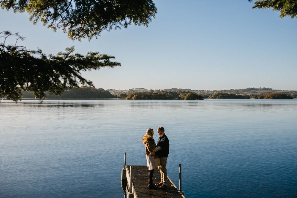 Engagement Photos By Lough Ramor Lake Ireland