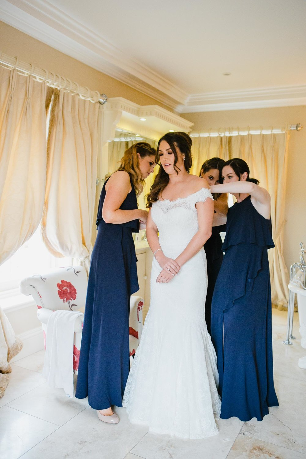 Bridal Suite Tankardstown House Wedding Photo