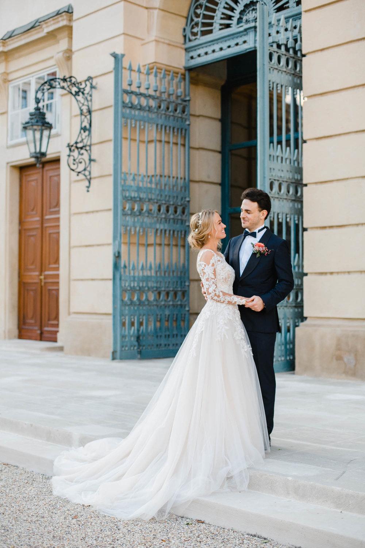 Palais Liechtenstein Wedding Bride And Groom Photo By Blue Gates