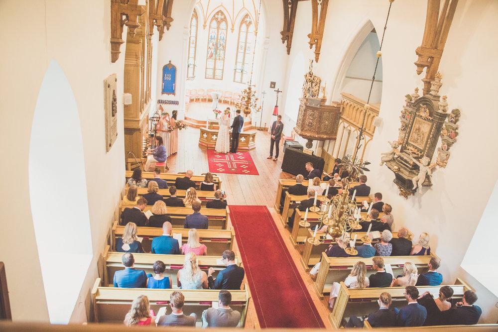 Bröllop Taxinge Kyrka