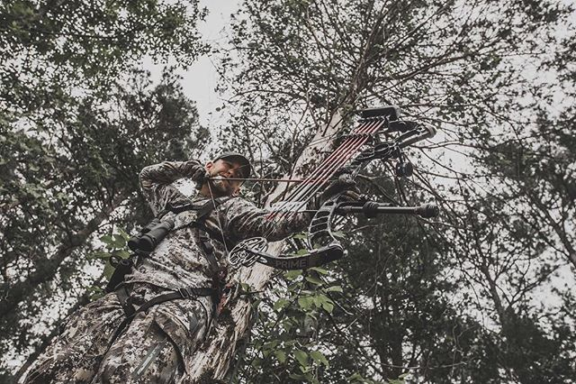 Aim small miss small! #struttinbuck #hunt #cuttheair #sickforit #bowhunting