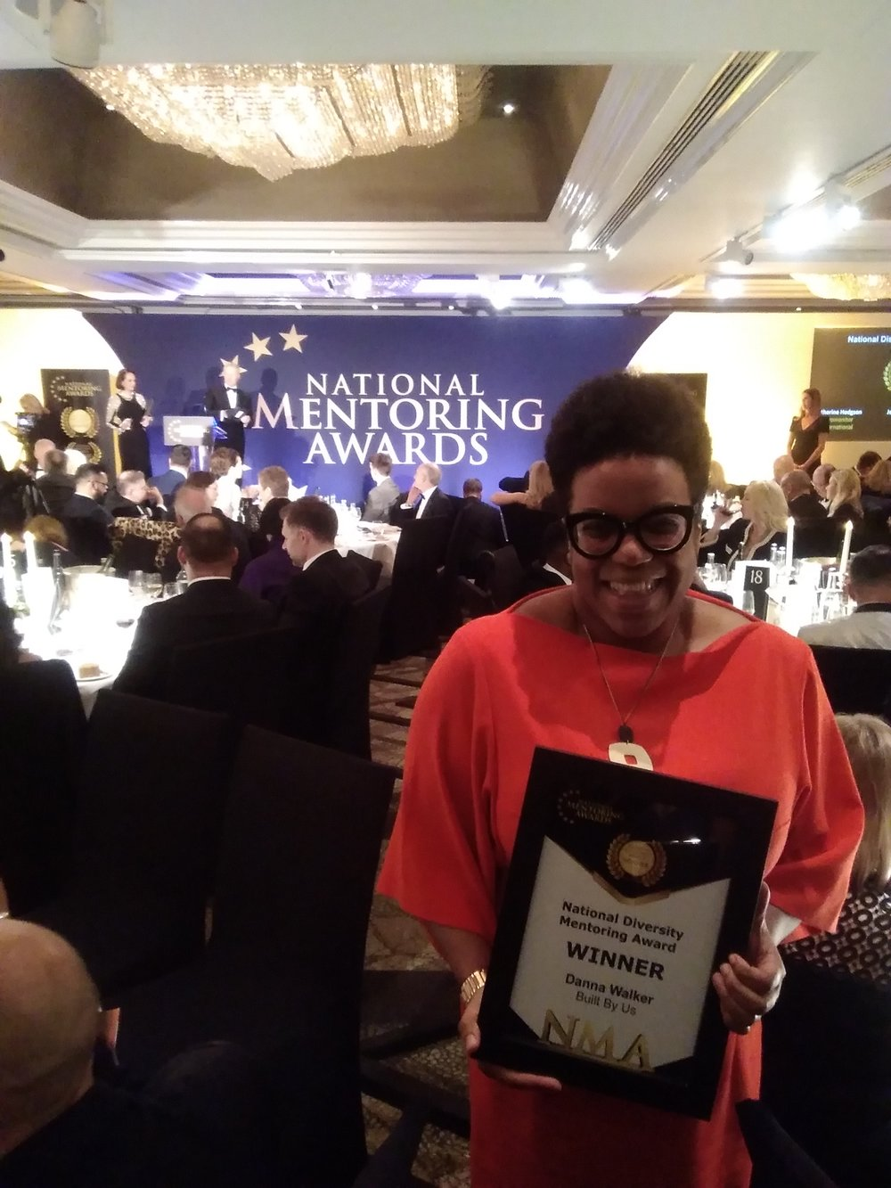 Danna Walker at The National Mentoring Awards 2019 - Winner.jpg