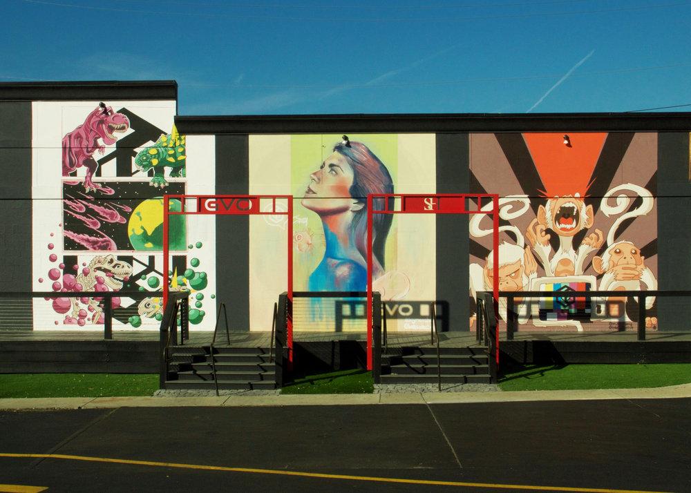 BAET COLLECTIVE Murals