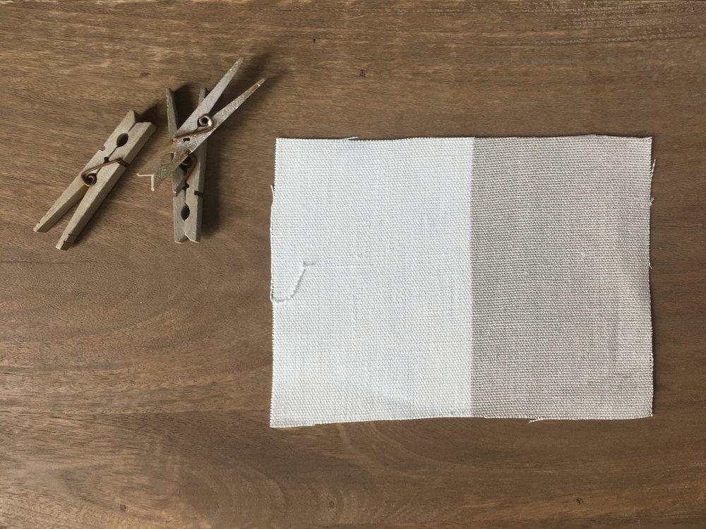 suzanne kasler linen flax & blanc stripe