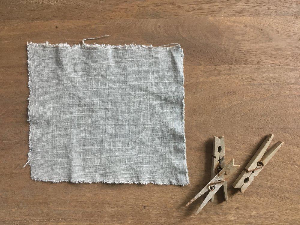 linen blend - sky grey