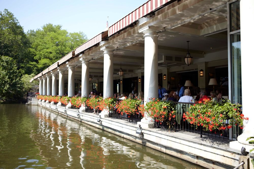 BEST BRUNCH WITH A VIEW: CENTRAL PARK BOATHOUSE