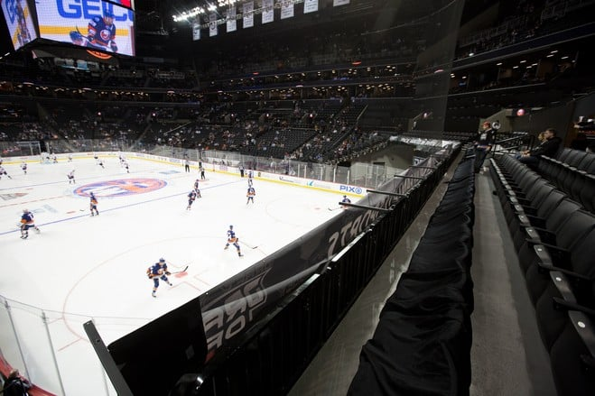 Catch a hockey game at Barclays Center