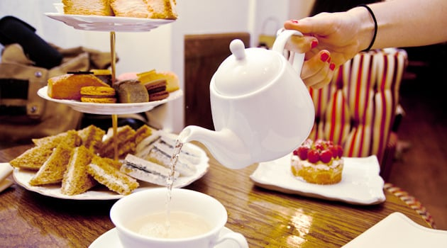 Get fancy with a super-posh high tea