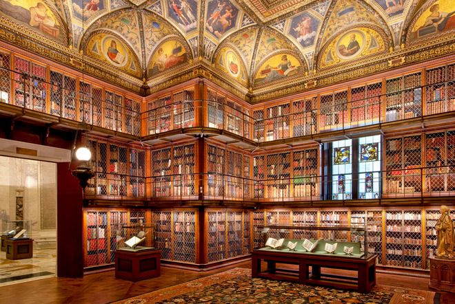 Pierpont Morgan Library © The Morgan Library & Museum/Graham S. Haber. Courtesy of The Monacelli Press