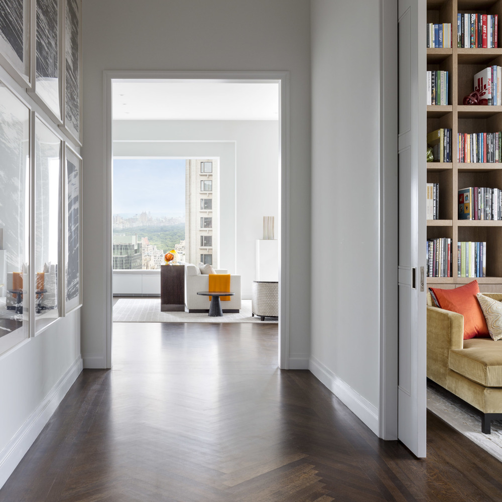 A model apartment at 432 Park