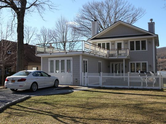 A waterfront home in Garrison is on the market for $1,125,000.    (Photo: Mark Vergari/The Journal News)
