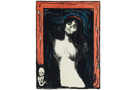 "Edvard Munch, ""Madonna"", 1895–1902"