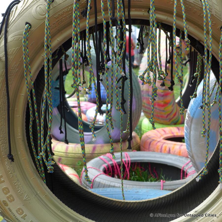 Flow.16 artist Denise Treizman creation Spartan Follies