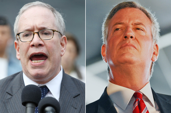 Stringer and DeBlasio