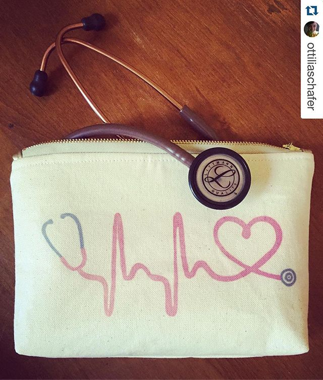 This always makes me so happy!!! Thank You for all that you do Nurse O! 😊. #Repost @ottiliaschafer with @repostapp. ・・・ ❤️ my new stethoscope bag from @owlmade_ ! Best Monday surprise ever! Thank you so much