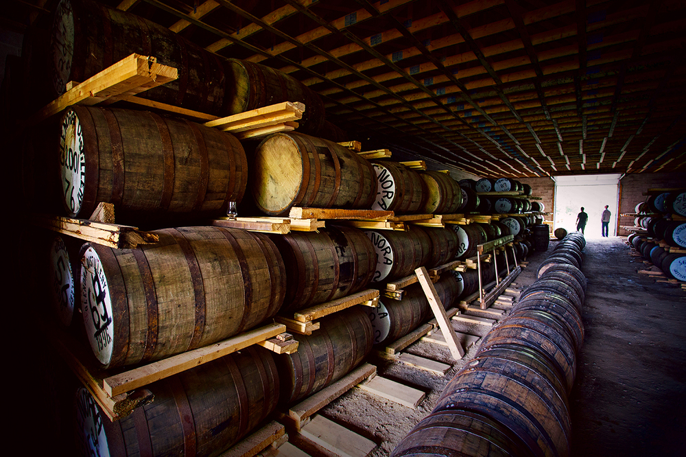 IT TOOK US 200 YEARS TO FINALLY BUILD A DISTILLERY. WE OBVIOUSLY NURSED THAT LAST BOTTLE LONGER THAN WE THOUGHT.
